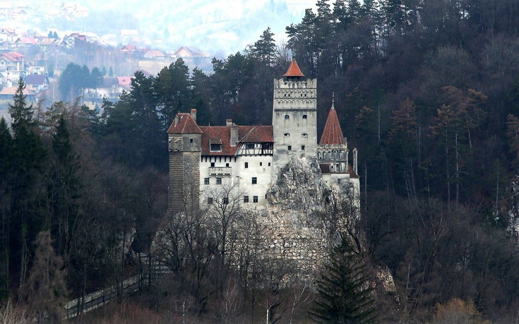 Bran Castle in Romania: the inspiration for the Count's castle