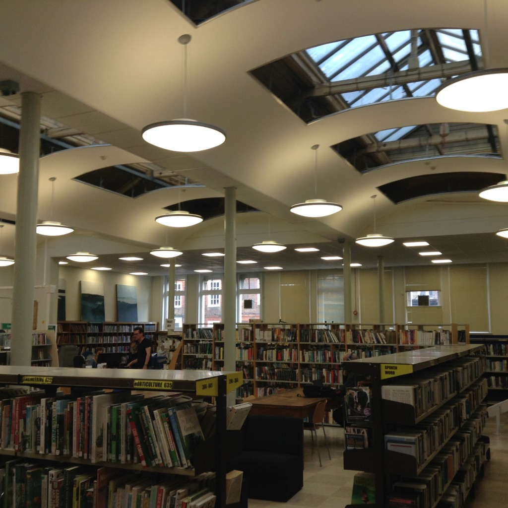 The main room of the Library