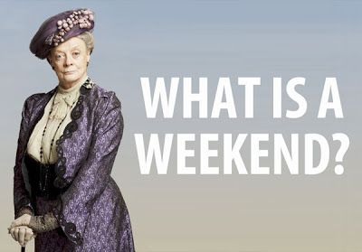 I'll miss Violet Crawley's quips. She has one for everything!