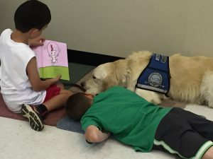 "Our ""Read to Lydia"" program was very popular among dog lovers."